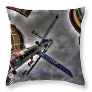 0013 Delaware And West Chippewa  Throw Pillow
