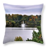 0015 Hoyt Lake Autumn 2013 Throw Pillow