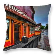 002 Allen St Hardware Throw Pillow