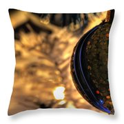 002 Silent Night Series Throw Pillow
