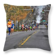 002 Turkey Trot  2014 Throw Pillow