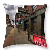 0020 Tap House Pub And Grill Throw Pillow