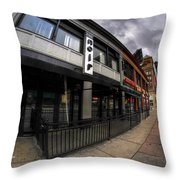0023 Noir Ultra Lounge Throw Pillow