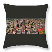 0023a Visual Highs Of The Queen City Throw Pillow