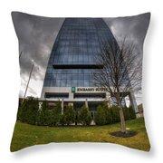 0028 Embassy Suites Throw Pillow