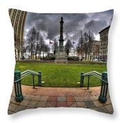 0029 Lafayette Square Throw Pillow