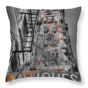 003 Antiques  Throw Pillow