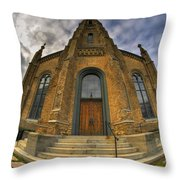 003 Westminster Presbyterian Church Throw Pillow