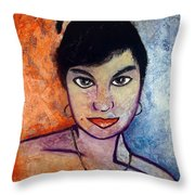 Miranda Bresenio I Throw Pillow