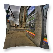 0031 Buffalo Niagara Visitor Center Throw Pillow