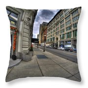 0033 Hotel Lafayette Throw Pillow