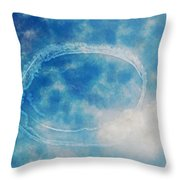0036 - Air Show - Traveling Pigments Hp Throw Pillow
