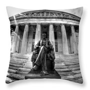 004 Buffalo History Museum Throw Pillow