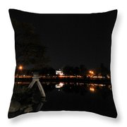 004 Japanese Garden Autumn Nights   Throw Pillow