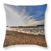 004 Presque Isle State Park Series Throw Pillow