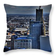 0040 After The Nov 2014 Storm Buffalo Ny Throw Pillow