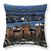 0048 After The Nov 2014 Storm Buffalo Ny Throw Pillow