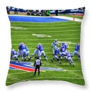 005 Buffalo Bills Vs Jets 30dec12 Throw Pillow