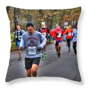 005 Turkey Trot 2014 Throw Pillow