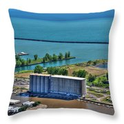 005 Visual Highs Of The Queen City Throw Pillow