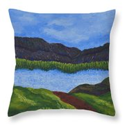 007 Landscape Throw Pillow