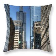 0078 Willis Tower Chicago Throw Pillow