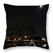 008 Japanese Garden Autumn Nights   Throw Pillow