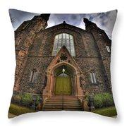 009 Asbury Delaware Avenue Methodist Church Throw Pillow