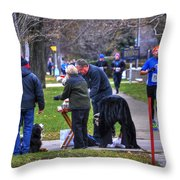 009 Bloody Marys At The Turkey Trot 2014 Throw Pillow