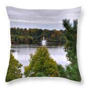 009 Hoyt Lake Autumn 2013 Throw Pillow