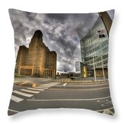 009 The Crossing Throw Pillow