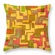 0101 Abstract Thought Throw Pillow