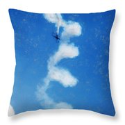0107 - Air Show - Acanthus Throw Pillow