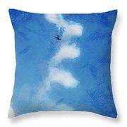 0107 - Air Show - Lux Throw Pillow