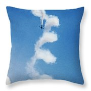 0107 - Air Show - Neo Throw Pillow