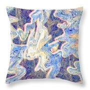 0114 Abstract Thought Throw Pillow
