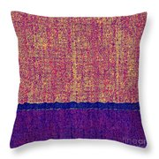0116 Abstract Thought Throw Pillow