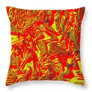 0118 Abstract Thought Throw Pillow