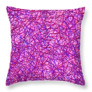 0125 Abstract Thought Throw Pillow