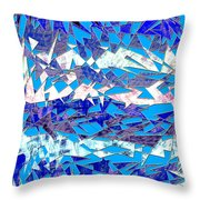 0137 Abstract Thought Throw Pillow