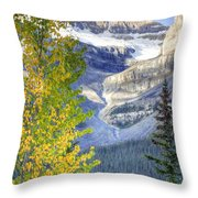 0141 Fall Colors On Icefield Parkway Throw Pillow
