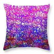 0144 Abstract Thought Throw Pillow