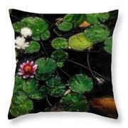 0148-lily -   Embossed Sl Throw Pillow
