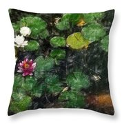 0148-lily -   Light Color Pencil Throw Pillow