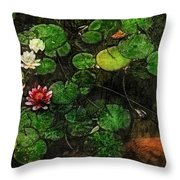 0148-lily -   Lux Sl Throw Pillow