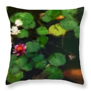 0148-lily -   Neo Throw Pillow