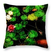 0148-lily -  Venetian Sl Throw Pillow