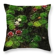 0151-lily -   Lux Sl Throw Pillow