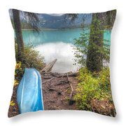 0162 Emerald Lake Throw Pillow