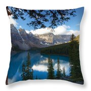 0164 Moraine Lake Throw Pillow